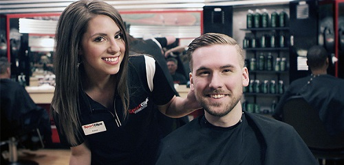 Sport Clips Haircuts of Springfield​ stylist hair cut